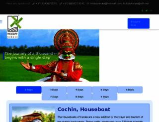 holidaykerala.com screenshot