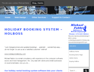 holidayrentalbooking.co.uk screenshot