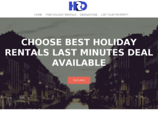 holidayrentalsdeal.com screenshot