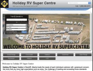 holidayrvcentre.calls.net screenshot