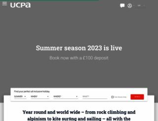 holidays.ucpa.com screenshot