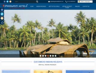 holidaysbyspeedways.com screenshot