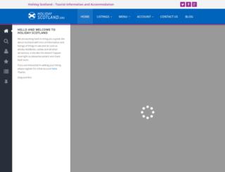 holidayscotland.org screenshot