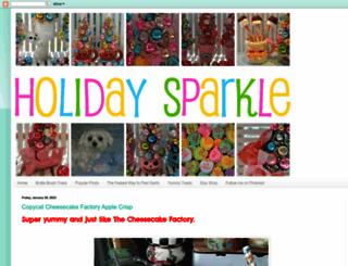 holidaysparkle.blogspot.ie screenshot