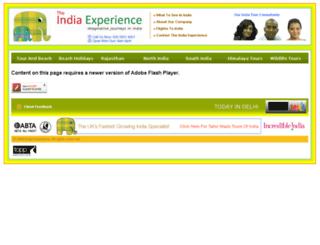 holidaystoindia.net screenshot