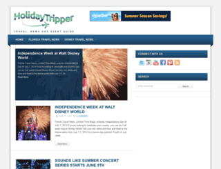 holidaytripper.com screenshot