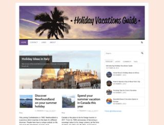 holidayvacationsguide.com screenshot
