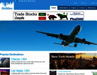 holideo.net screenshot