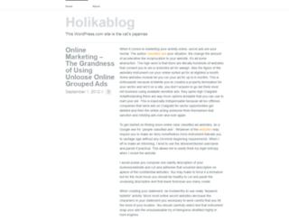 holikablog.wordpress.com screenshot