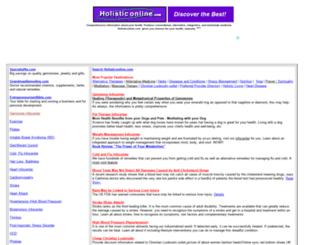 holistic-online.com screenshot