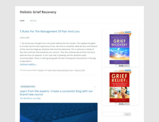holisticgriefrecovery.wordpress.com screenshot