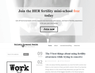 holistichormonalhealth.com screenshot