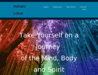 holisticlotus.org screenshot
