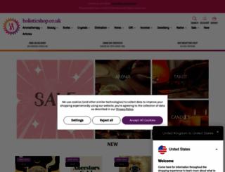 holisticshop.co.uk screenshot