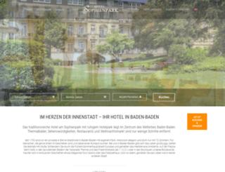 holland-hotel.de screenshot