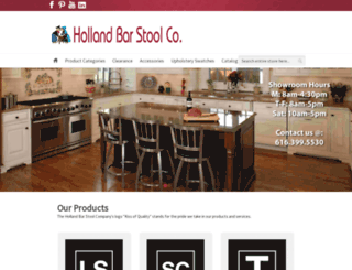 hollandbarstool.com screenshot