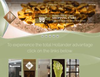 hollanderglass.com screenshot
