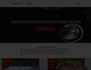 hollandersolutions.com screenshot