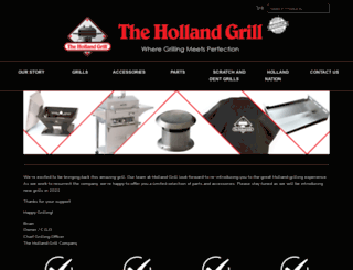 hollandgrill.com screenshot