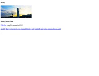 hollii.de screenshot