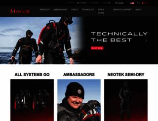 hollis.com screenshot