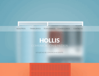 hollis.es screenshot