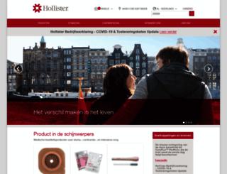 hollister.nl screenshot