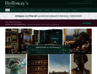 hollowaysauctioneers.co.uk screenshot