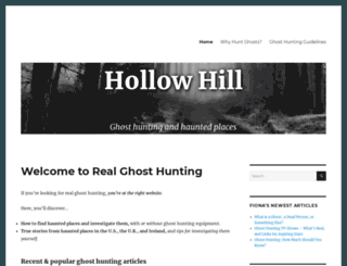 hollowhill.com screenshot