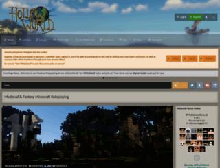 hollowworld.co.uk screenshot