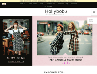 hollybob.co screenshot