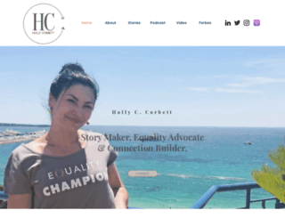 hollycassandra.com screenshot