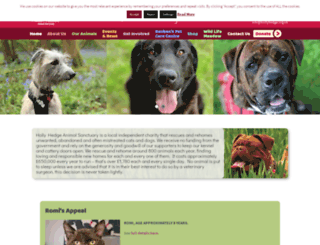 hollyhedge.org.uk screenshot