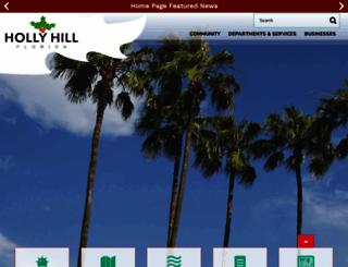 hollyhillfl.org screenshot