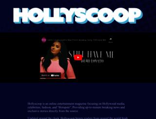 hollyscoop.com screenshot