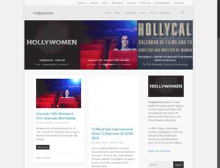 hollywomen.com screenshot