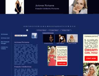 hollywood-actress-pictures.com screenshot