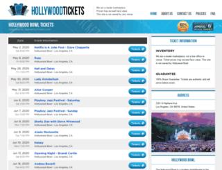 hollywood.bowl-ca.com screenshot