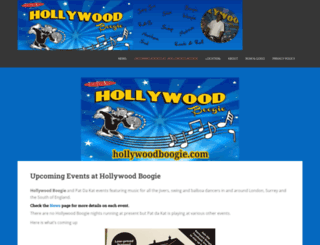 hollywoodboogie.com screenshot