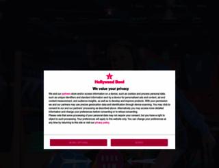 hollywoodbowl.co.uk screenshot