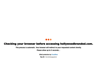 hollywoodbranded.com screenshot