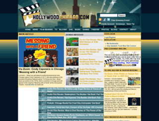 hollywoodchicago.com screenshot