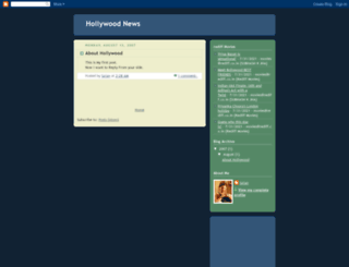 hollywoodhits.blogspot.in screenshot