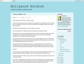 hollywoodhotdish.blogspot.com screenshot