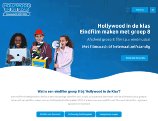 hollywoodindeklas.nl screenshot