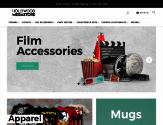 hollywoodmegastore.com screenshot