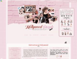 hollywoodpeople.forumactif.ws screenshot