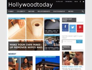 hollywoodtoday.me screenshot