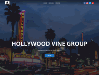 hollywoodvinegroup.com screenshot
