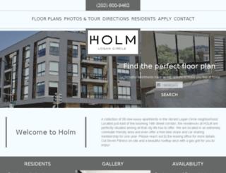 holm.prospectportal.com screenshot